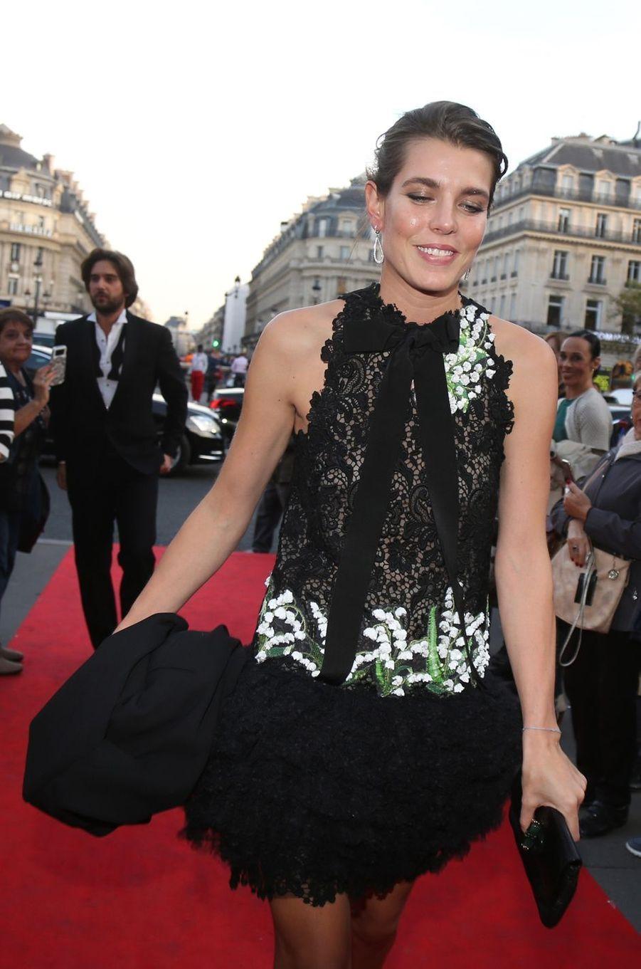 Charlotte Casiraghi à Paris, le 21 septembre 2017