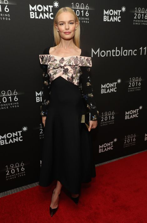 Kate Bosworth au dîner de gala Montblanc à New York, le 5 avril 2016