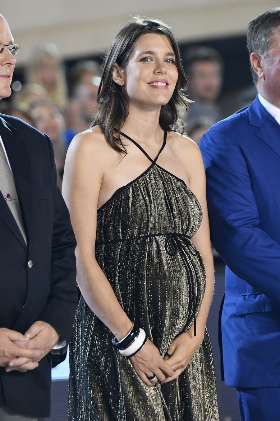 Charlotte Casiraghi Très Enceinte Au Jumping International De Monte Carlo ( 15