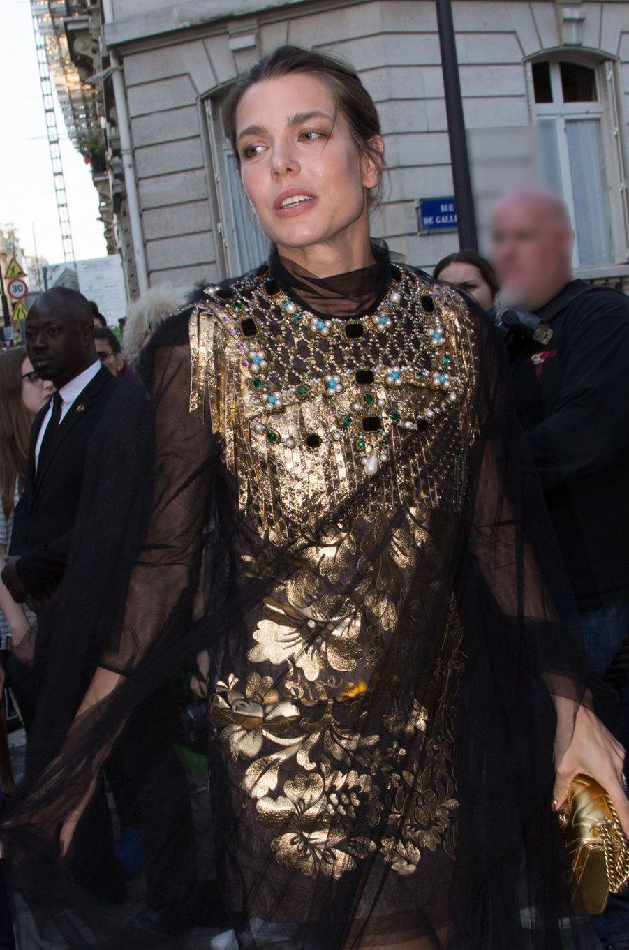 Charlotte Casiraghi à Paris, le 5 juillet 2016