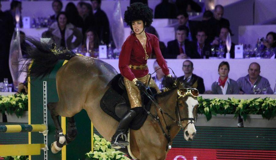 Passage parfait, avec Madison d'Olgy : Charlotte triomphe dans le concours Style & Competition.
