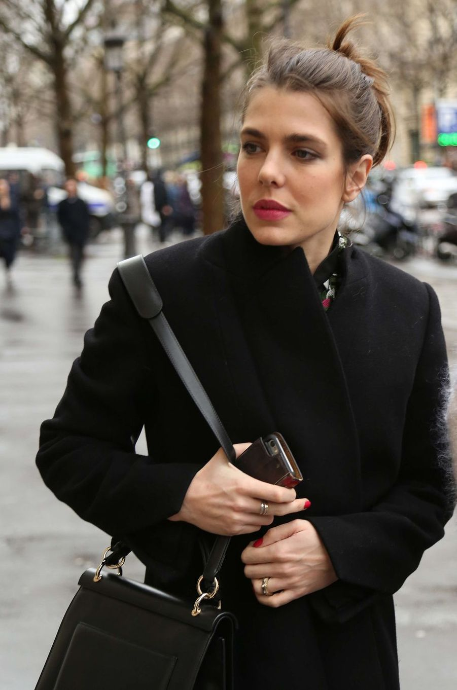 Charlotte Casiraghi à Paris, le 6 mars 2017