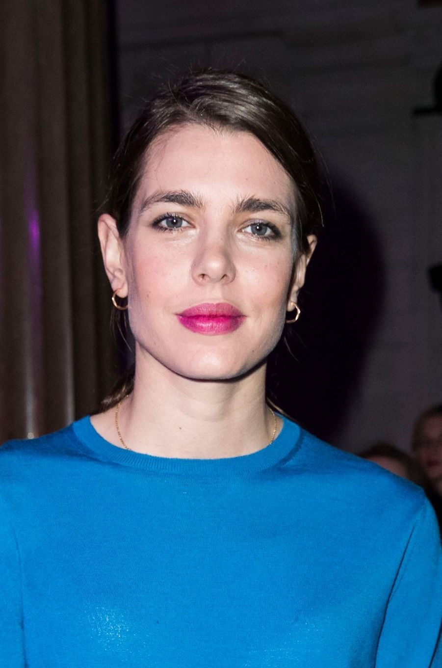 Charlotte Casiraghi à la Fashion Week à Paris, le 6 mars 2017