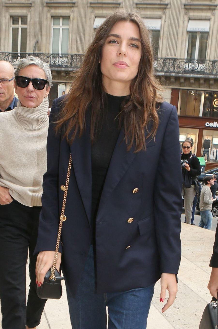 Charlotte Casiraghi à Paris, le 2 octobre 2017