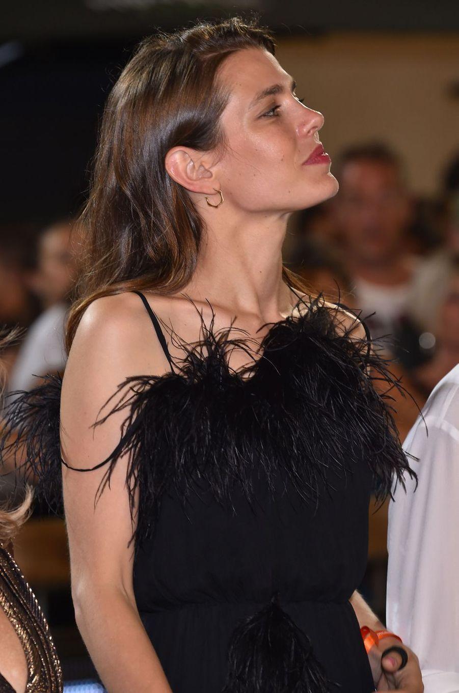Charlotte Casiraghi à Monaco, le 24 juin 2017