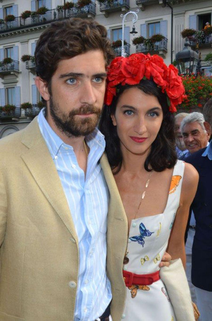 Carlo Borromeo et Marta Ferri