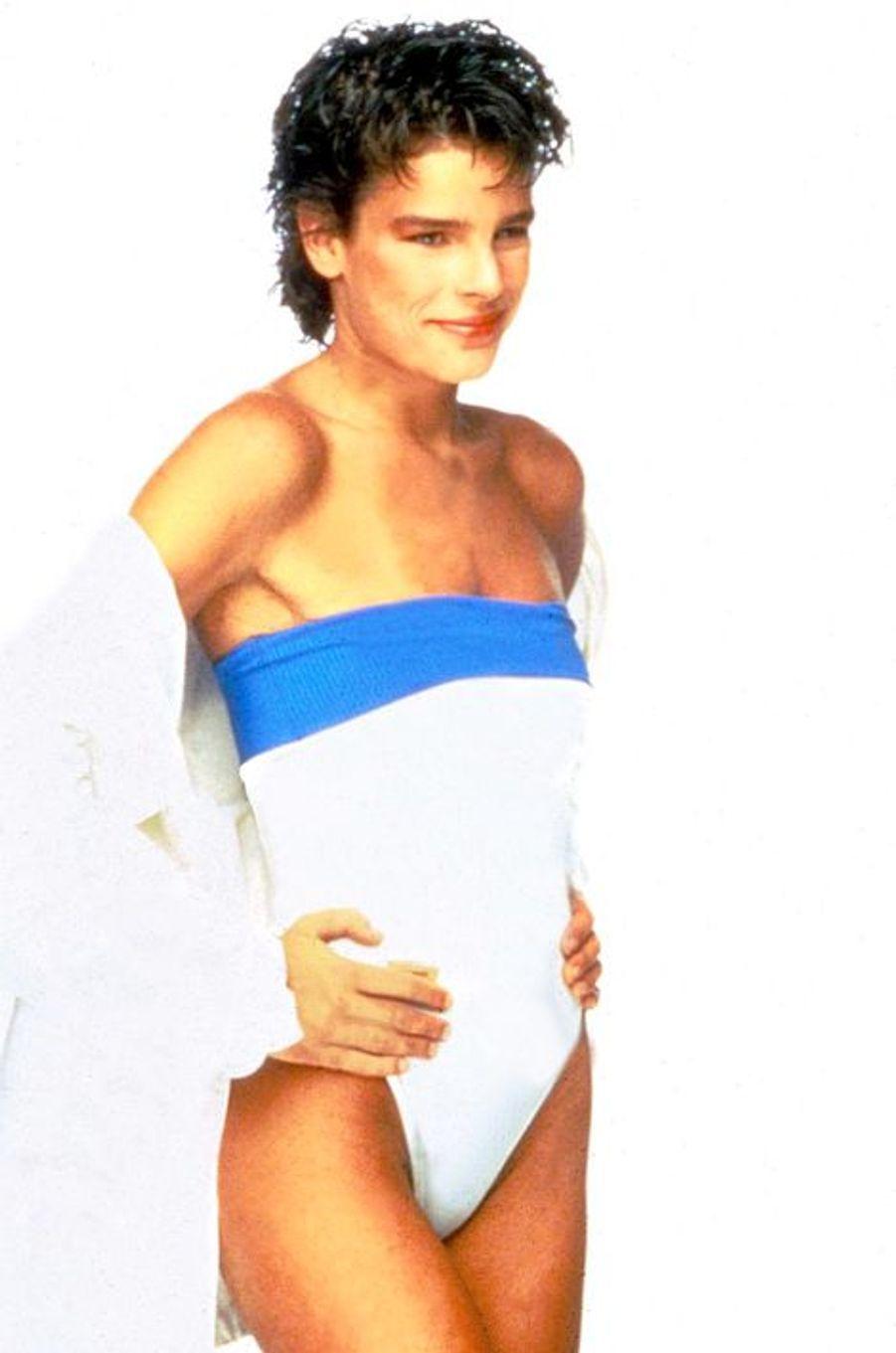 La princesse Stéphanie de Monaco dans les années 1980