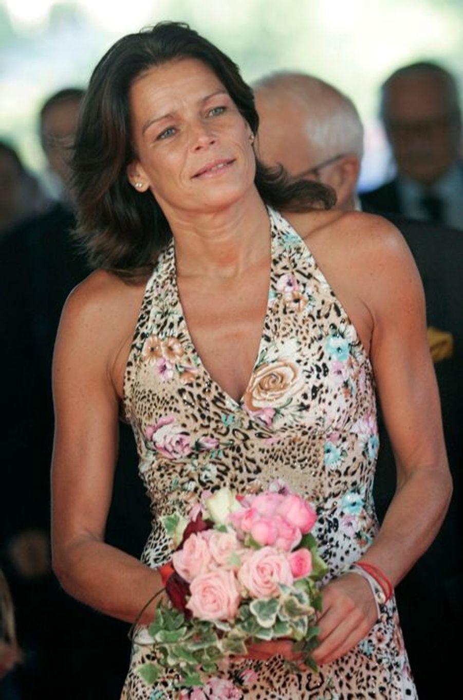 La princesse Stéphanie de Monaco le 11 juillet 2007