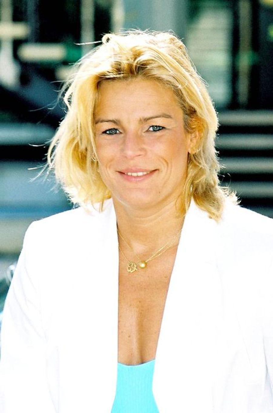 La princesse Stéphanie de Monaco le 16 juin 2001