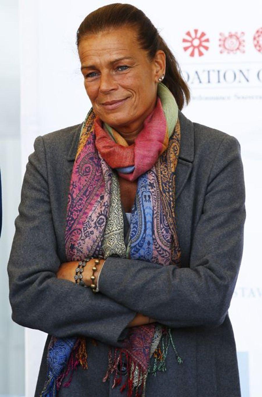 La princesse Stéphanie de Monaco le 16 novembre 2013