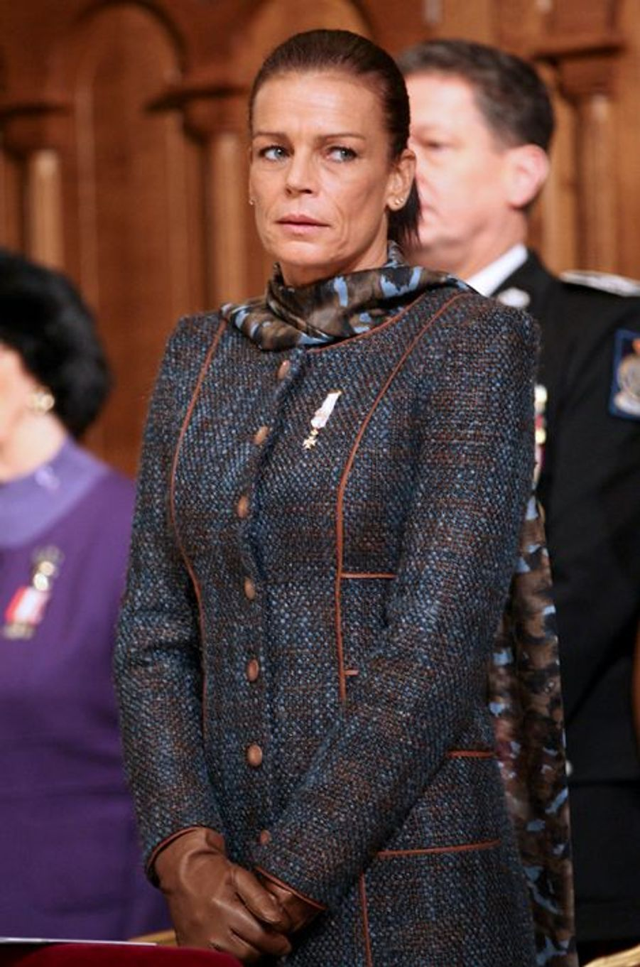 La princesse Stéphanie de Monaco le 17 novembre 2010