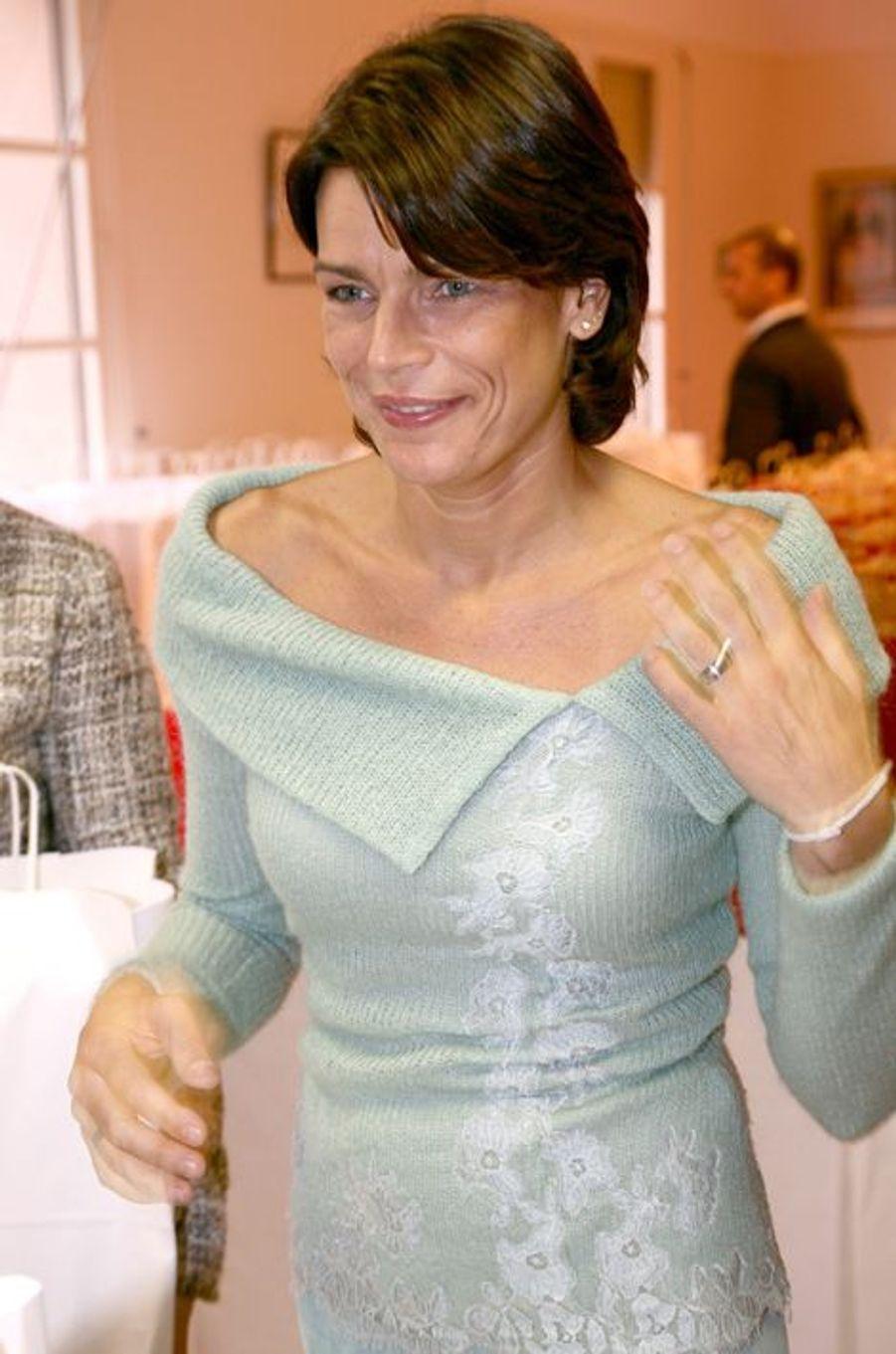 La princesse Stéphanie de Monaco le 18 novembre 2005
