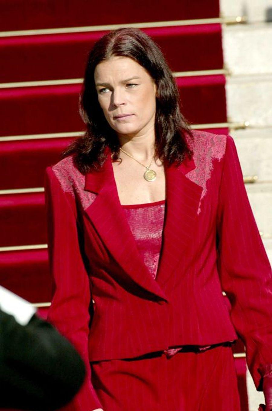 La princesse Stéphanie de Monaco le 19 novembre 2002