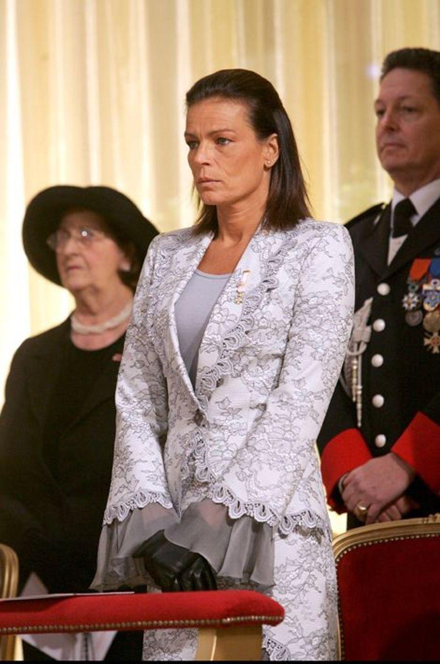 La princesse Stéphanie de Monaco le 19 novembre 2007