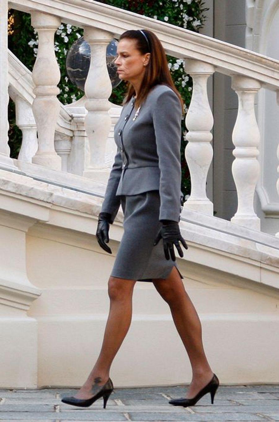 La princesse Stéphanie de Monaco le 19 novembre 2009