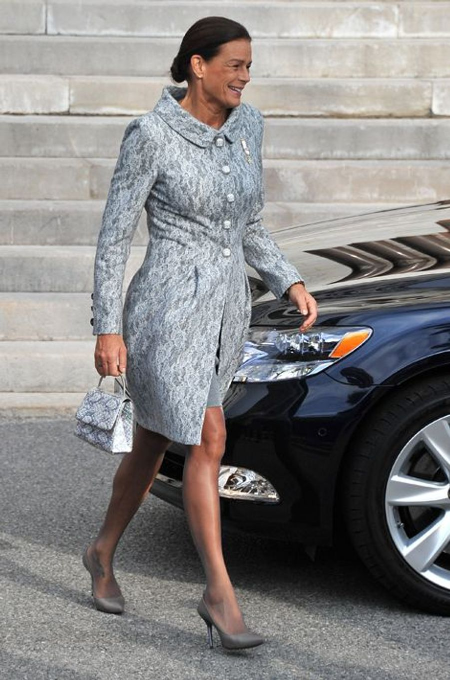 La princesse Stéphanie de Monaco le 19 novembre 2011