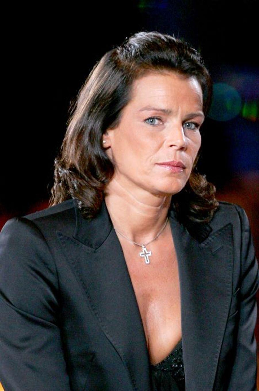 La princesse Stéphanie de Monaco le 1er juin 2007