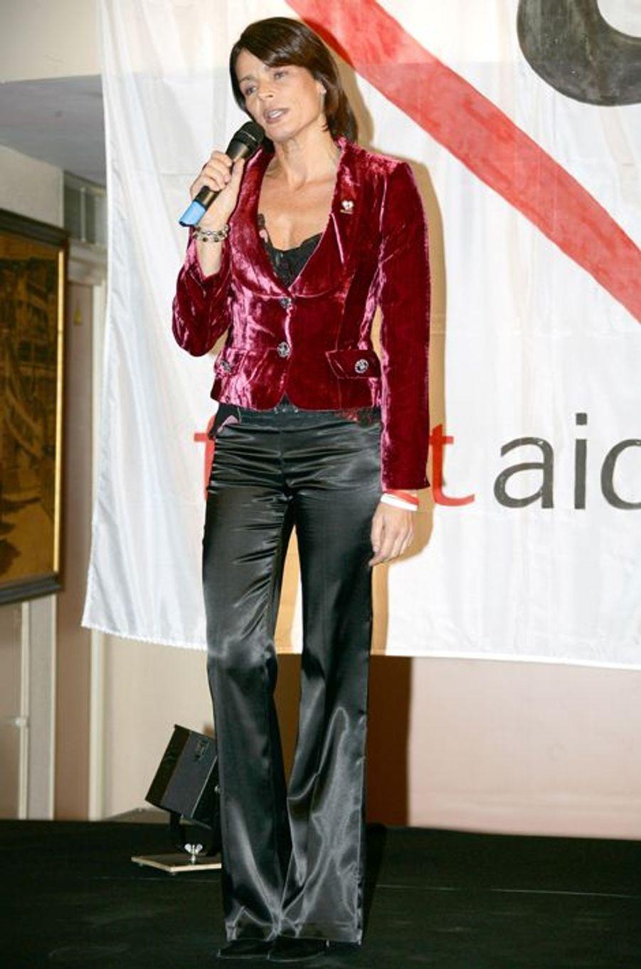 La princesse Stéphanie de Monaco le 2 décembre 2005