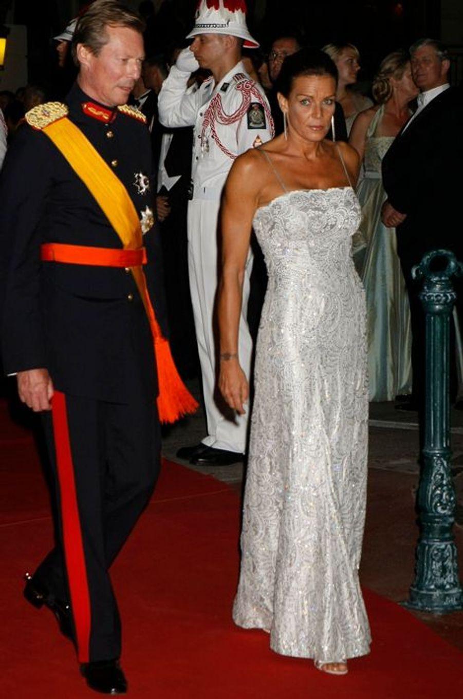 La princesse Stéphanie de Monaco le 2 juillet 2011