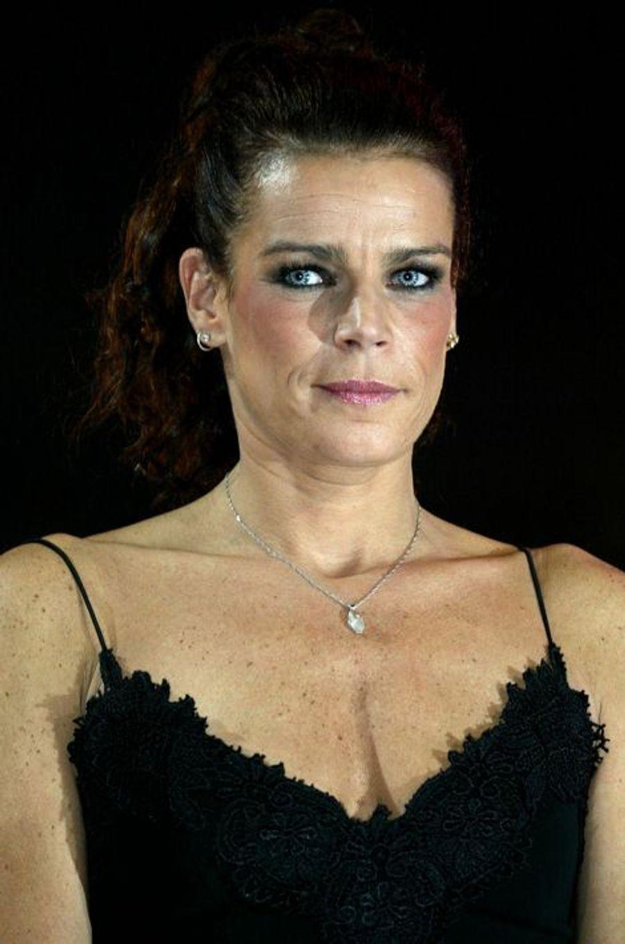 La princesse Stéphanie de Monaco le 20 janvier 2004