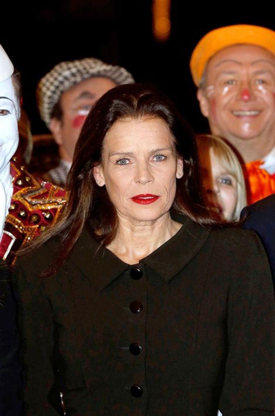 La princesse Stéphanie de Monaco le 20 janvier 2015