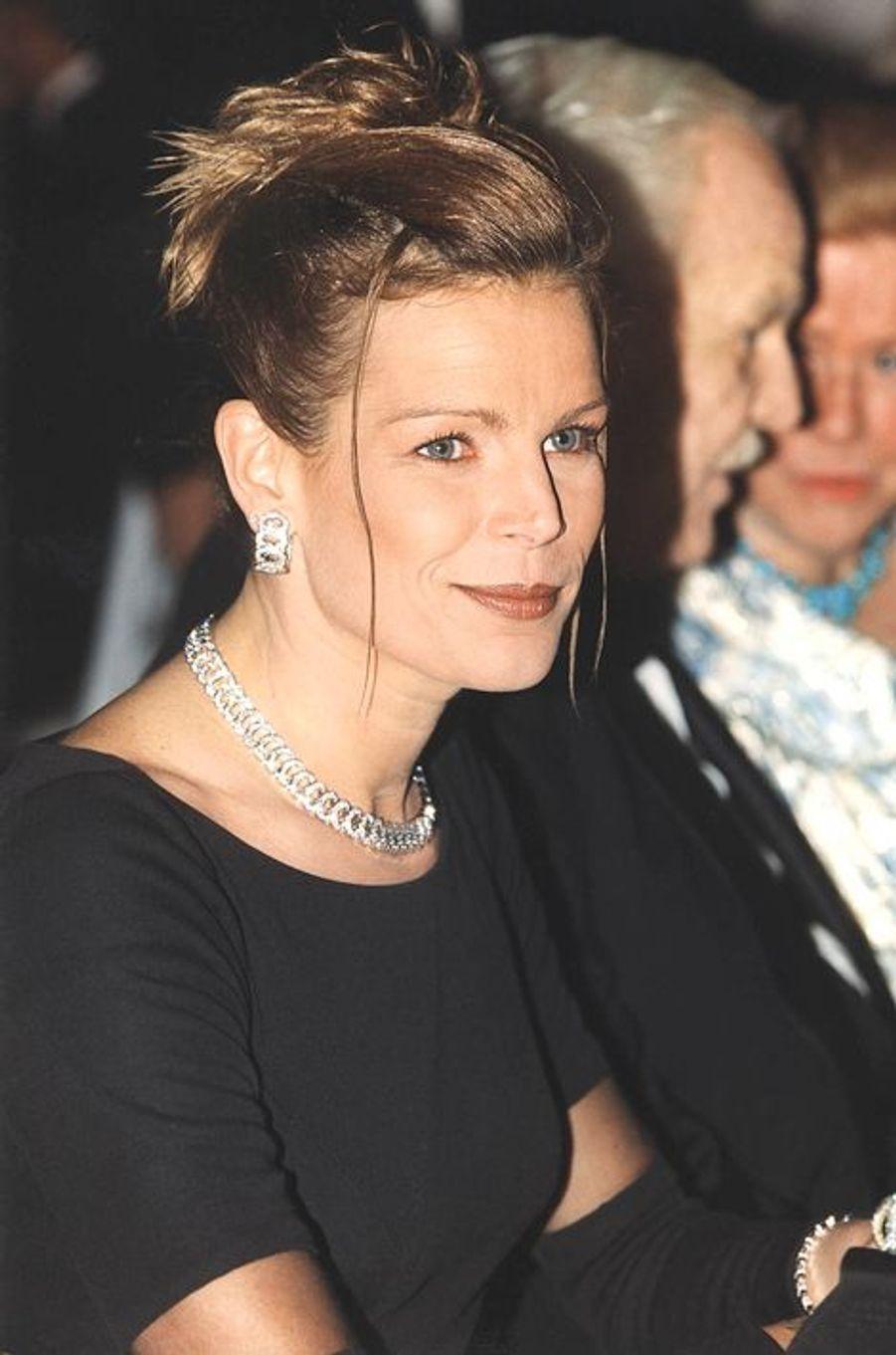La princesse Stéphanie de Monaco le 20 mars 1999