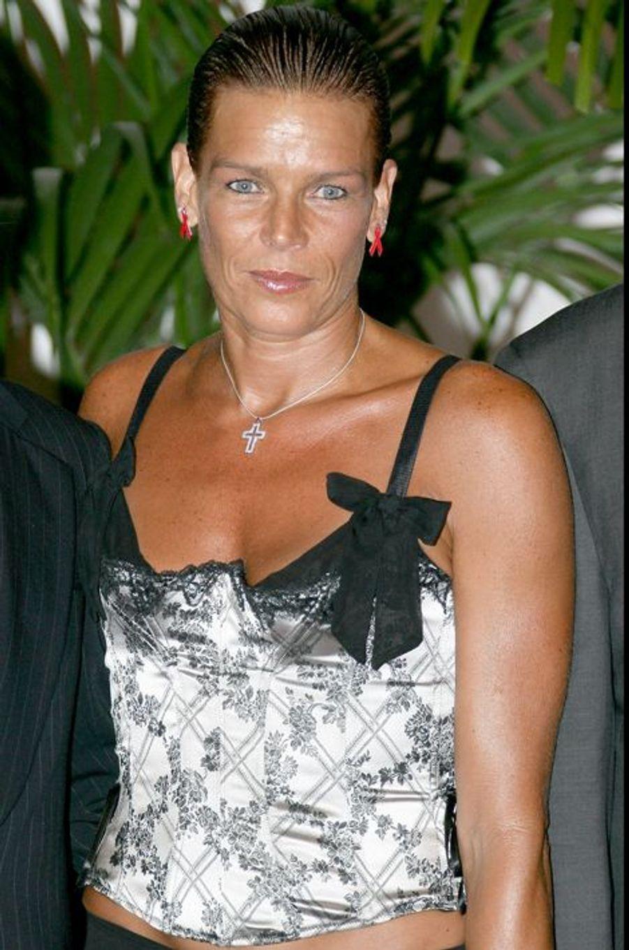 La princesse Stéphanie de Monaco le 21 juillet 2006
