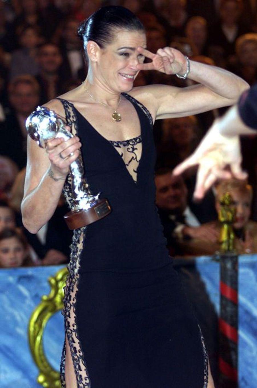 La princesse Stéphanie de Monaco le 22 janvier 2003