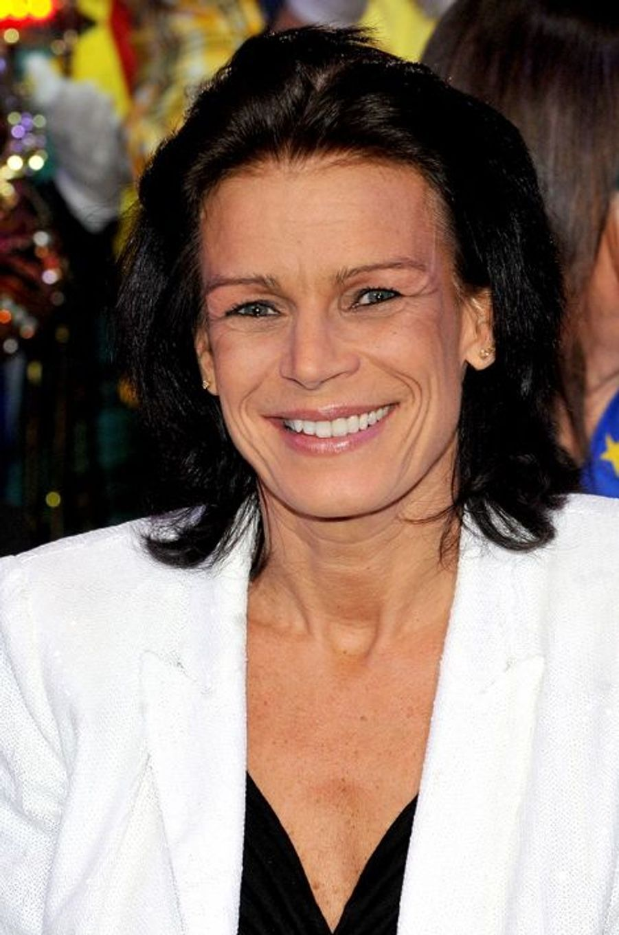 La princesse Stéphanie de Monaco le 22 janvier 2011