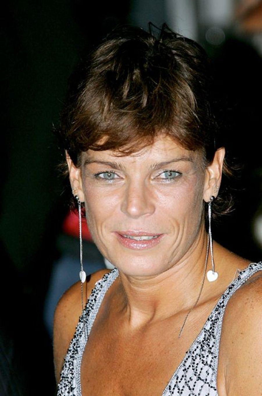 La princesse Stéphanie de Monaco le 24 juillet 2005