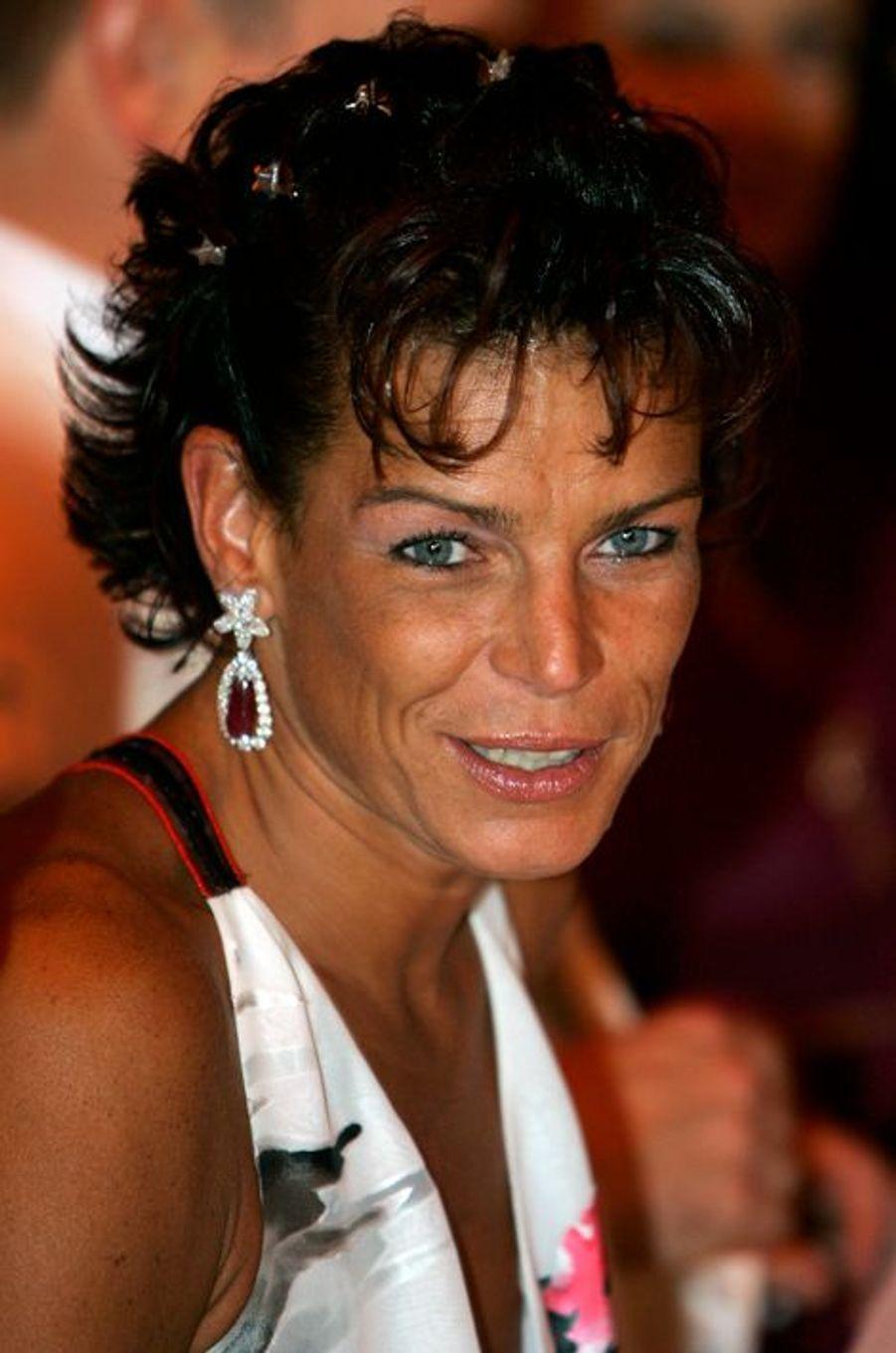 La princesse Stéphanie de Monaco le 5 août 2005