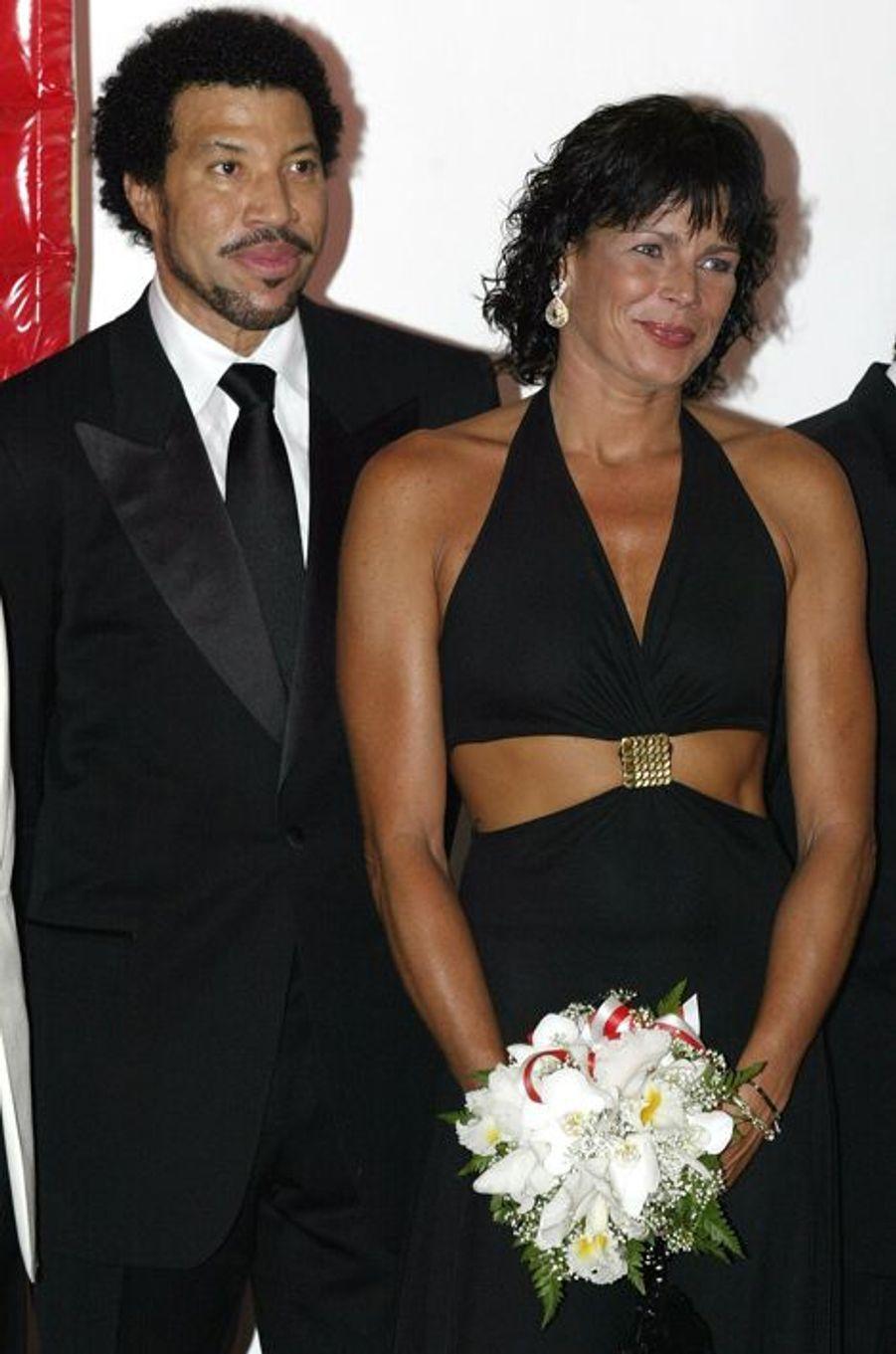 La princesse Stéphanie de Monaco le 6 août 2004