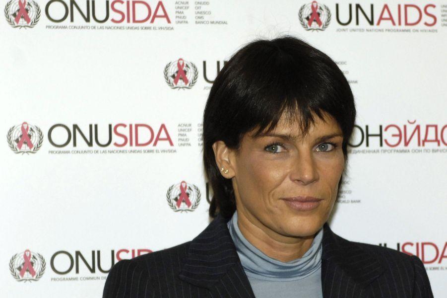 La princesse Stéphanie de Monaco le 6 octobre 2006