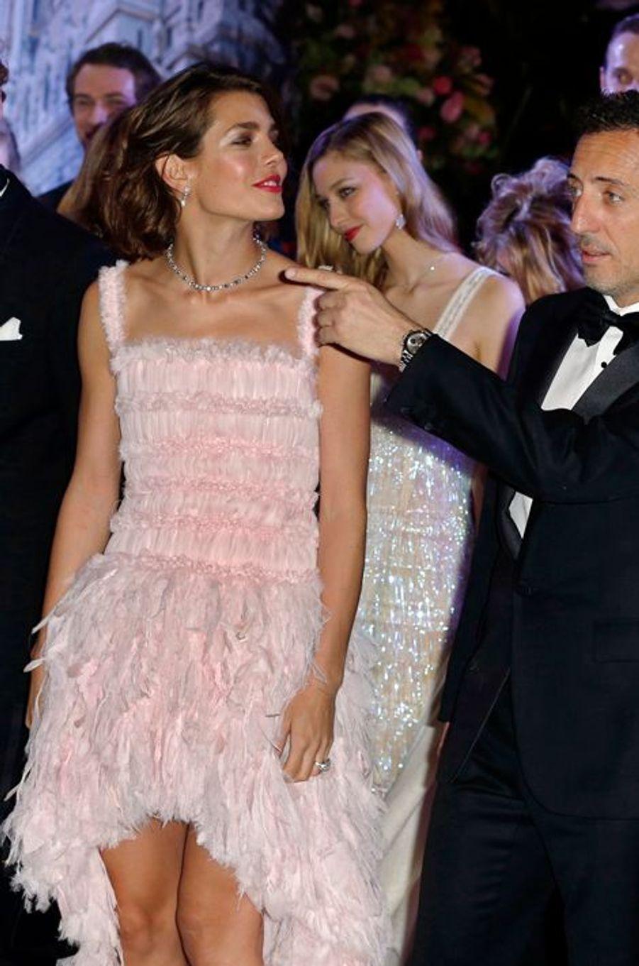 Charlotte Casiraghi avec Gad Elmaleh, le 23 mars 2013