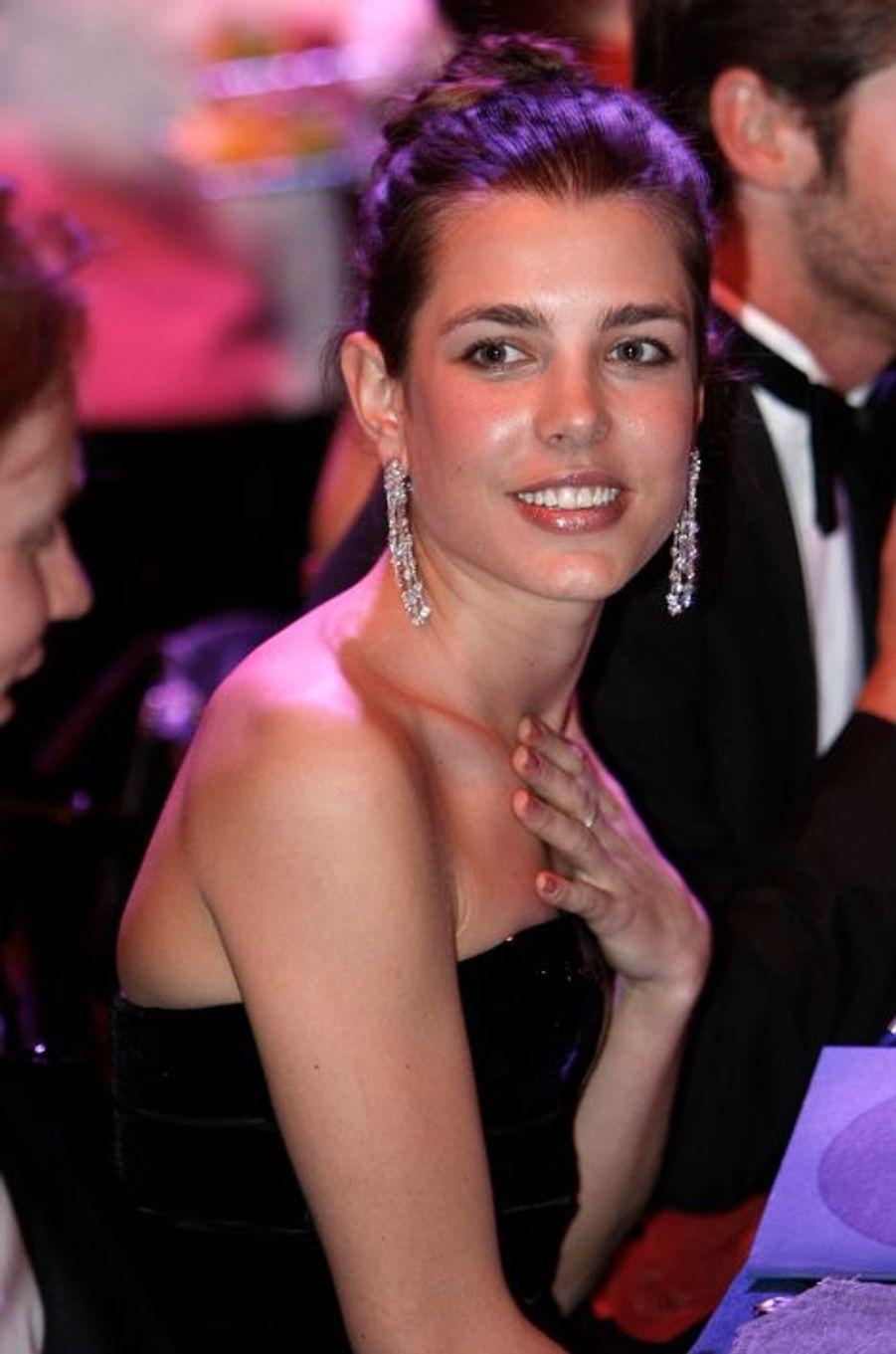 Charlotte Casiraghi, le 28 mars 2009