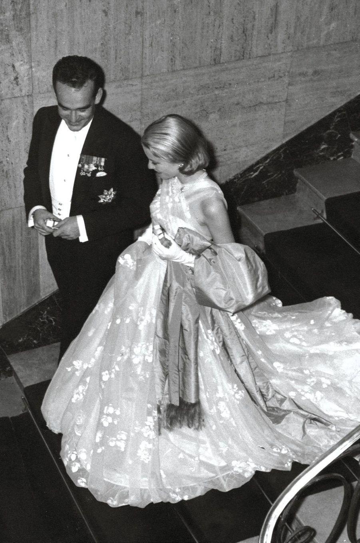 Soirée de gala à l'Opéra de Monte-Carlo, le 18 avril, jour du mariage civil.