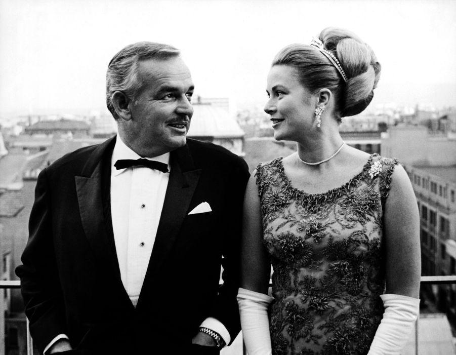 La princesse Grace et le prince Rainier III de Monaco, dans les années 1960