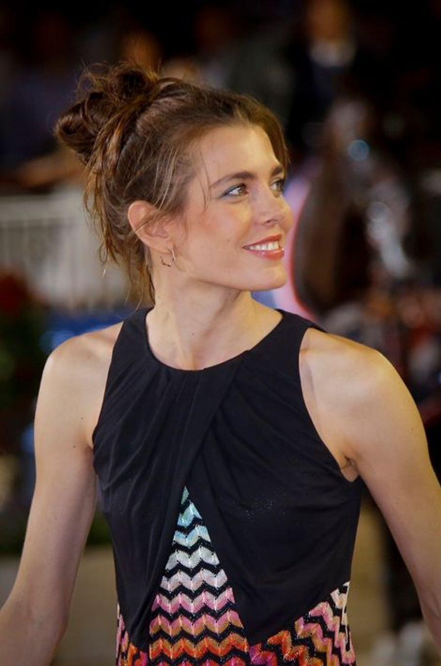 Charlotte Casiraghi le 27 juin 2015