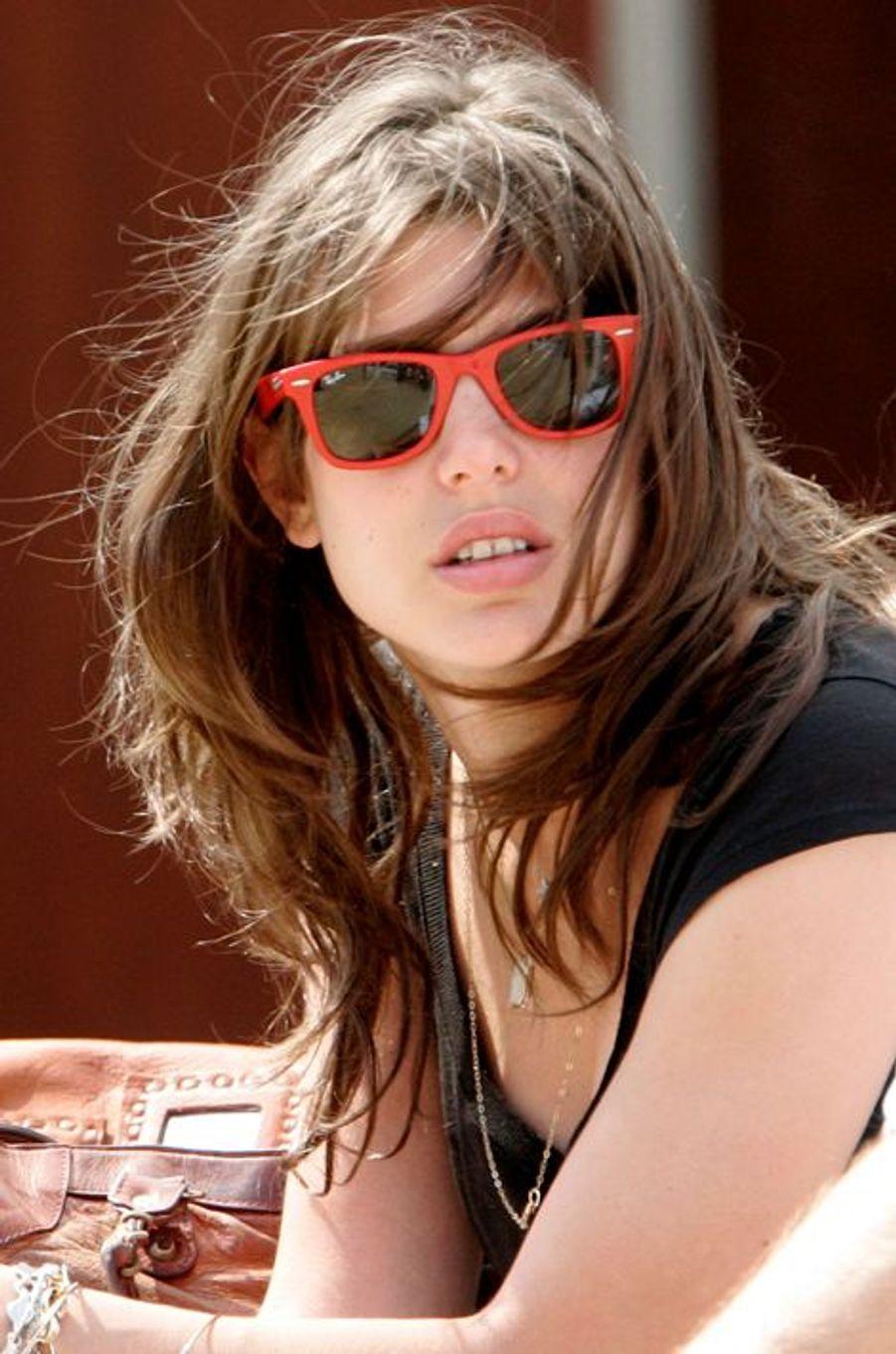Charlotte Casiraghi le 29 juin 2007