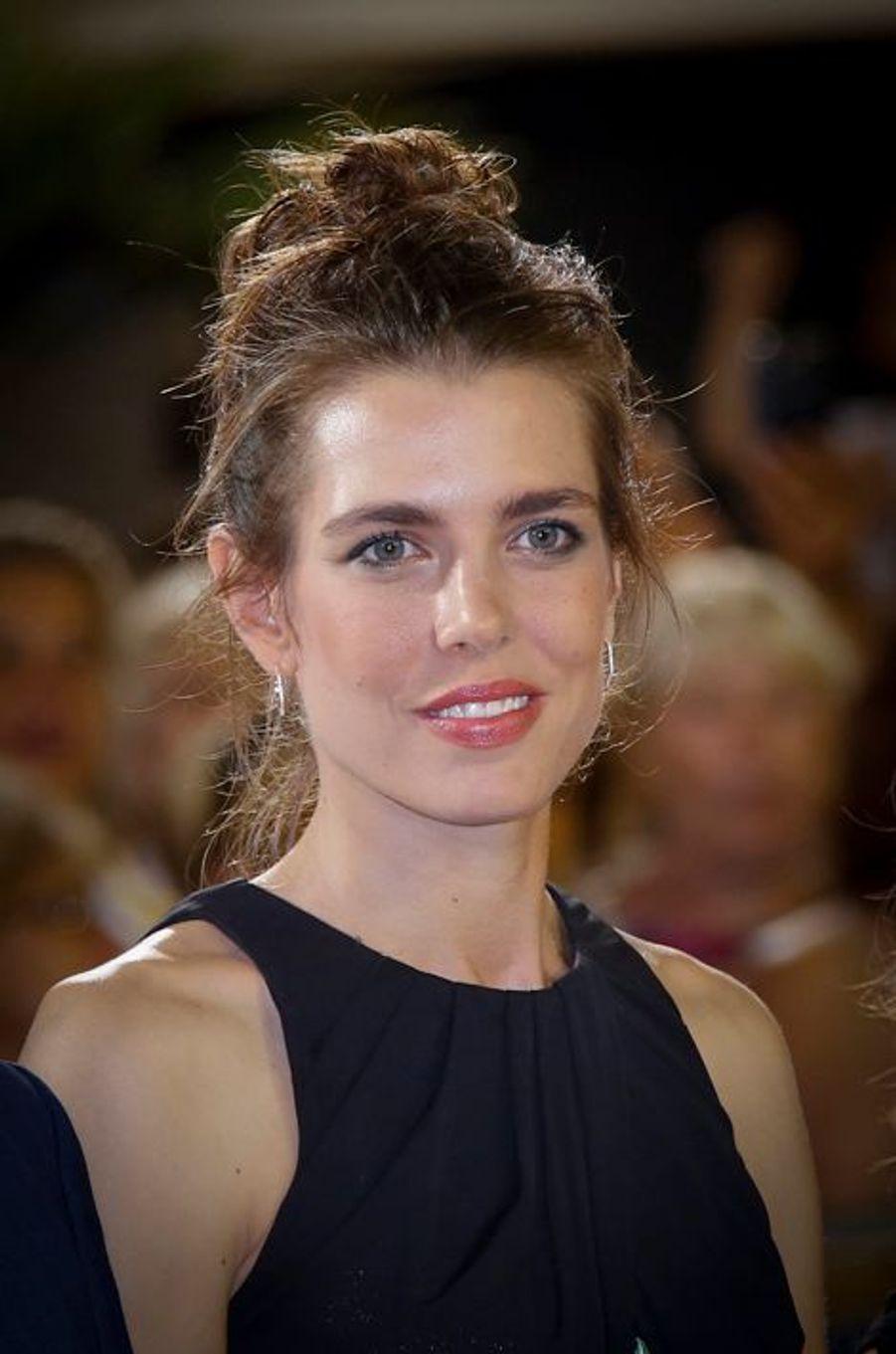 Charlotte Casiraghi au Jumping de Monaco, le 27 juin 2015