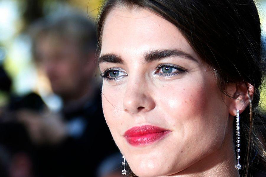 Charlotte Casiraghi au Festival de Cannes, le 17 mai 2015