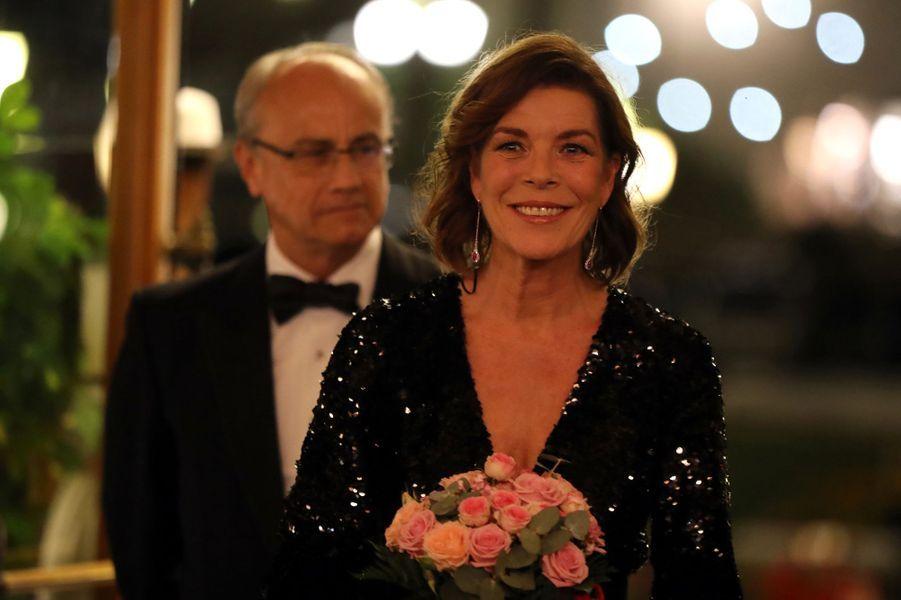La princesse Caroline de Hanovre à Monaco, le 19 octobre 2018