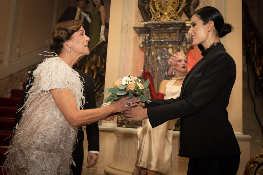 La princesse Caroline de Hanovre à Monaco, le 5 octobre 2019
