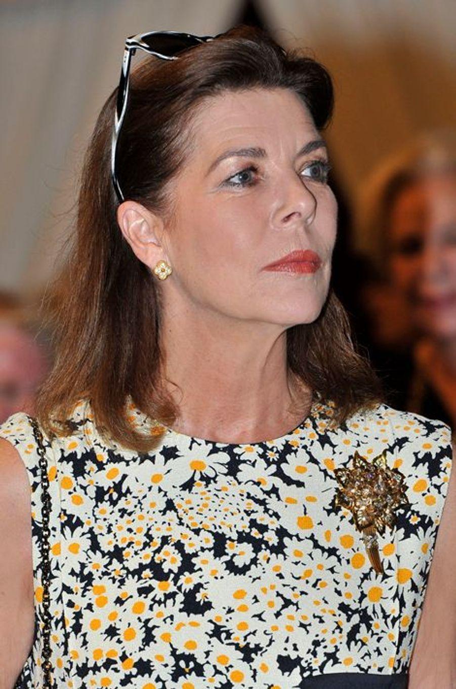 La princesse Caroline de Hanovre à Monaco, le 30 mai 2015
