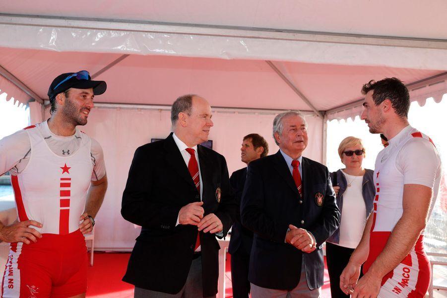 Le prince Albert II de Monaco à Monaco, le 29 novembre 2019