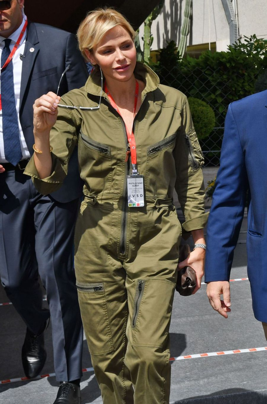 La princesse Charlène de Monaco à Monaco, le 26 mai 2018