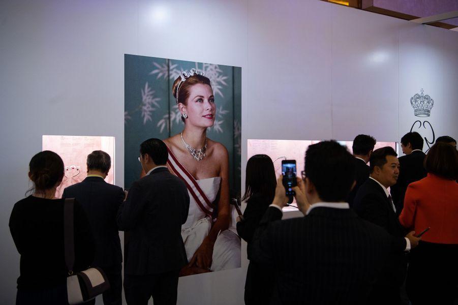 L'exposition sur Grace Kelly à Macao, le 15 mai 2019