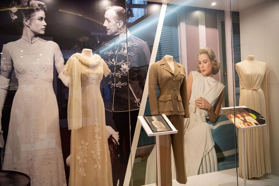 L'exposition Grace Kelly à Macao en Chine, le 15 mai 2019