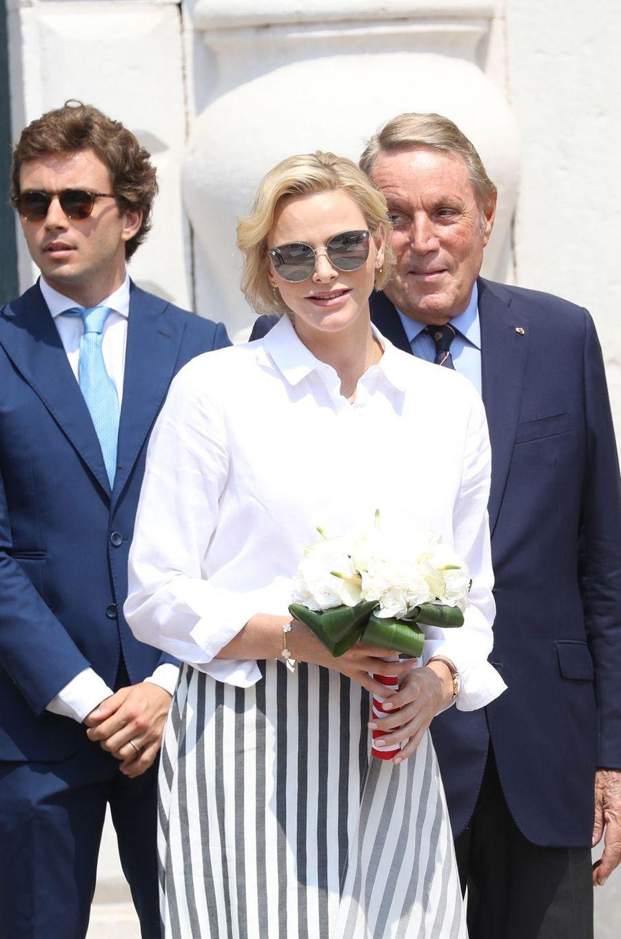 La princesse Charlène de Monaco, le 30 juin 2019 à Monaco