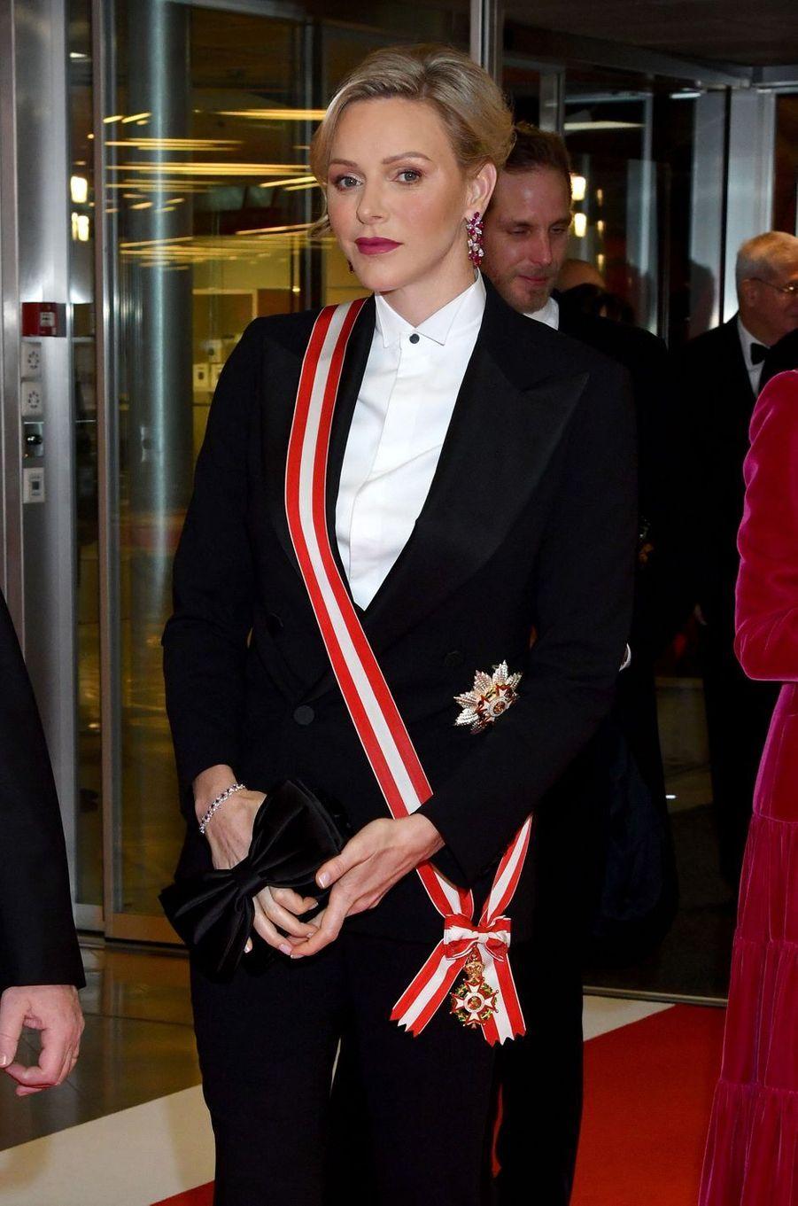 La princesse Charlène de Monaco à Monaco, le 19 novembre 2019